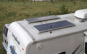 Fixed Flat Photovoltaic Solar Module Mounting System - RV
